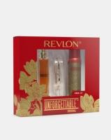 revlon unforgettable deluxe pack 50ml eau de toilette90ml gift set