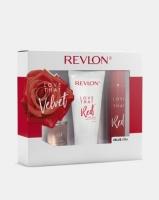 revlon love that red 30ml eau de toilette90ml pbs150ml gift set