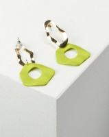 you i and warp drop earrings lime accessory