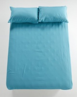 utopia fitted sheet duck egg bedding