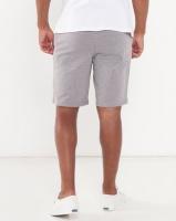 zoo york zy fleece shorts grey dh pant