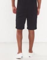 zoo york zy fleece shorts black dh pant