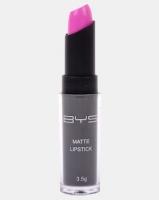 bys matte lipstick i dont pink so