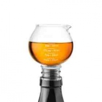snifter jigger and stopper