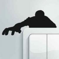 vw zombie action stickers figurines sculpture
