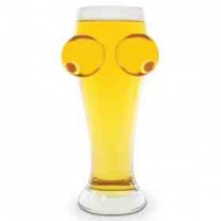 lego boobs pint glass beer