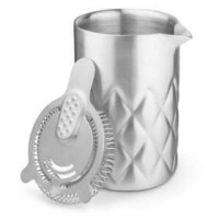 stainless steel yarai mixing pitcher