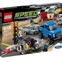 lego speed champions ford f 150 raptor model a hot rod