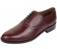 lethato handmade brogue oxford goodyear welted genuine