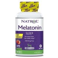 natrol melatonin fast dissolve tablets strawberry flavor