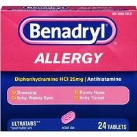 benadryl allergy diphenhydramine hydrochloride