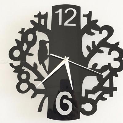 Photo of Modern Home Decor Clock Creative Bird Acrylic Wall Clock