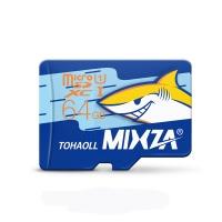 mixza shark edition memory card micro sd class10 for
