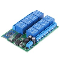 12v 8 channel bluetooth relay module remote control switch