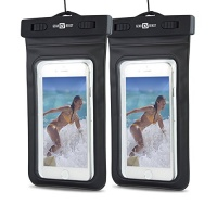 2 pack gear beast heavy duty universal cell phone dry bag