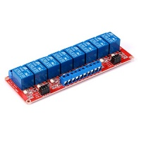 8 channel dc 12v 8ch relay module with optocoupler hl level