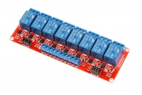 8 channel relay module high low level trigger with