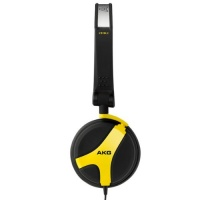akg k 518 le limited edition folding headphones yellow