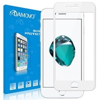 amovo iphone 8 plus screen protector case friendly full