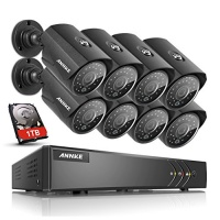annke 8 channel hd tvi security system 1080p lite video dvr