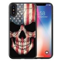 apple iphone x case customized black soft rubber tpu