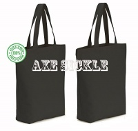 axesickle 3 per pack 12oz heavy canvas tote bag 159 w x