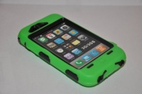 body armor for iphone 3g 3gs green and black