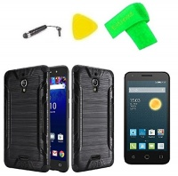 brush hybrid cover case cell phone accessory screen