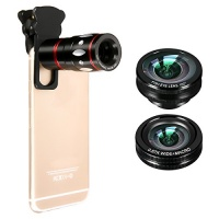 camera phone lens mway 4 in 1 clip on cellphone kits
