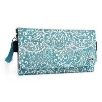 cat b100 b15 q wristlet wallet phone holder with zipper