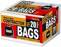 contractor bags heavy duty 20 42 gallon 32 x 50