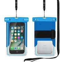 gorsun universal waterproof case with armband lanyard water