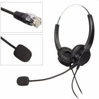 headset mway hands free call wired binaural headphone with
