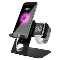 holder mate 2 in 1 apple watch stand charging station dock