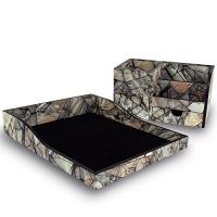 ikee design premium wooden marble pattern office supplies