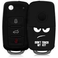 kwmobile silicone case for 3 button car key cover