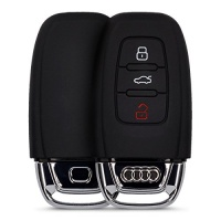 kwmobile silicone cover for 3 button car key keyless