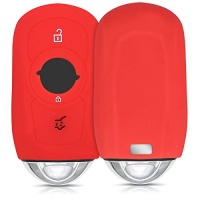 kwmobile silicone cover for 3 button car key smart only