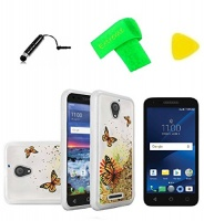 liquid quicksand cover phone case screen protector extreme