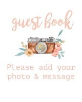 modern notebooks guest book sign for wedding 8