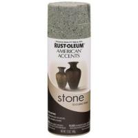 rust oleum 7992830 stone creations spray gray 12