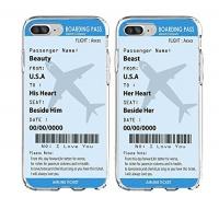 shark boarding pass plane tickets best friends