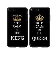 shark king and queen matching couple cases for iphone