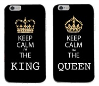sharkking and queen matching couple cases for king iphone6