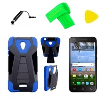 t stand hybrid cover phone case screen protector extreme