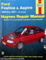 1988 1997 haynes repair manual ford festiva and aspire