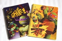 2 teenage mutant ninja turtles tmnt notebooks mikey and
