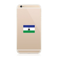 2x lesotho flag cell phone sticker decal fa vinyl
