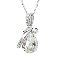 adisaer gold plated pendant necklaces for women cubic