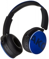 akg bluetooth headphone blue y50bt